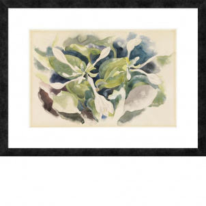 Charles Demuth, August Lilies, medium (26 x 18.74 in.) print, framed