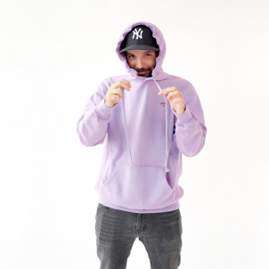 Medium Pink or Purple Hue Hand-Dyed and Unique Noah Hoodie