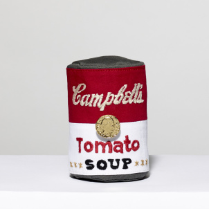 Yuki & Daughters Embroidered Campbell's Tomato Soup Can