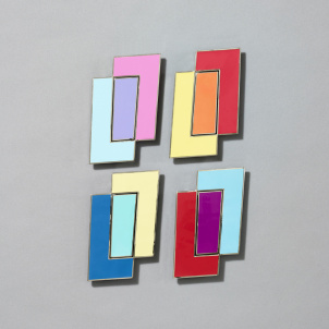 Rectangle Pin Set