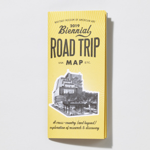 2019 Whitney Biennial Road Trip Map