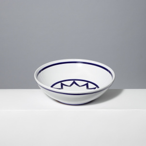 Sol Lewitt Star Serving Bowl - 12""