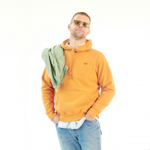Extra Large Yellow Hue Hand-Dyed and Unique Noah Hoodie