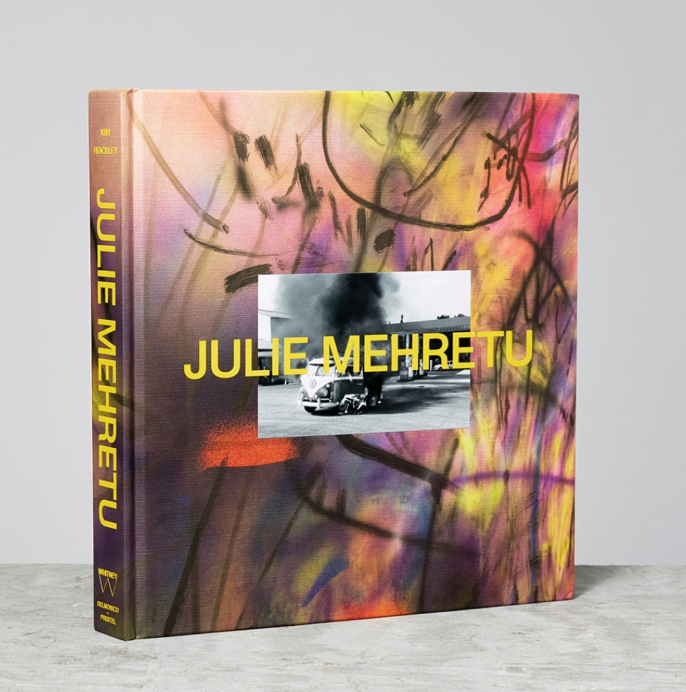Colorful Julie Mehretu catalogue cover