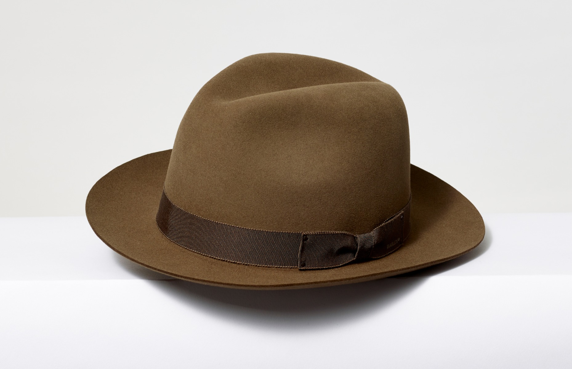 A brown, hopper-esque hat