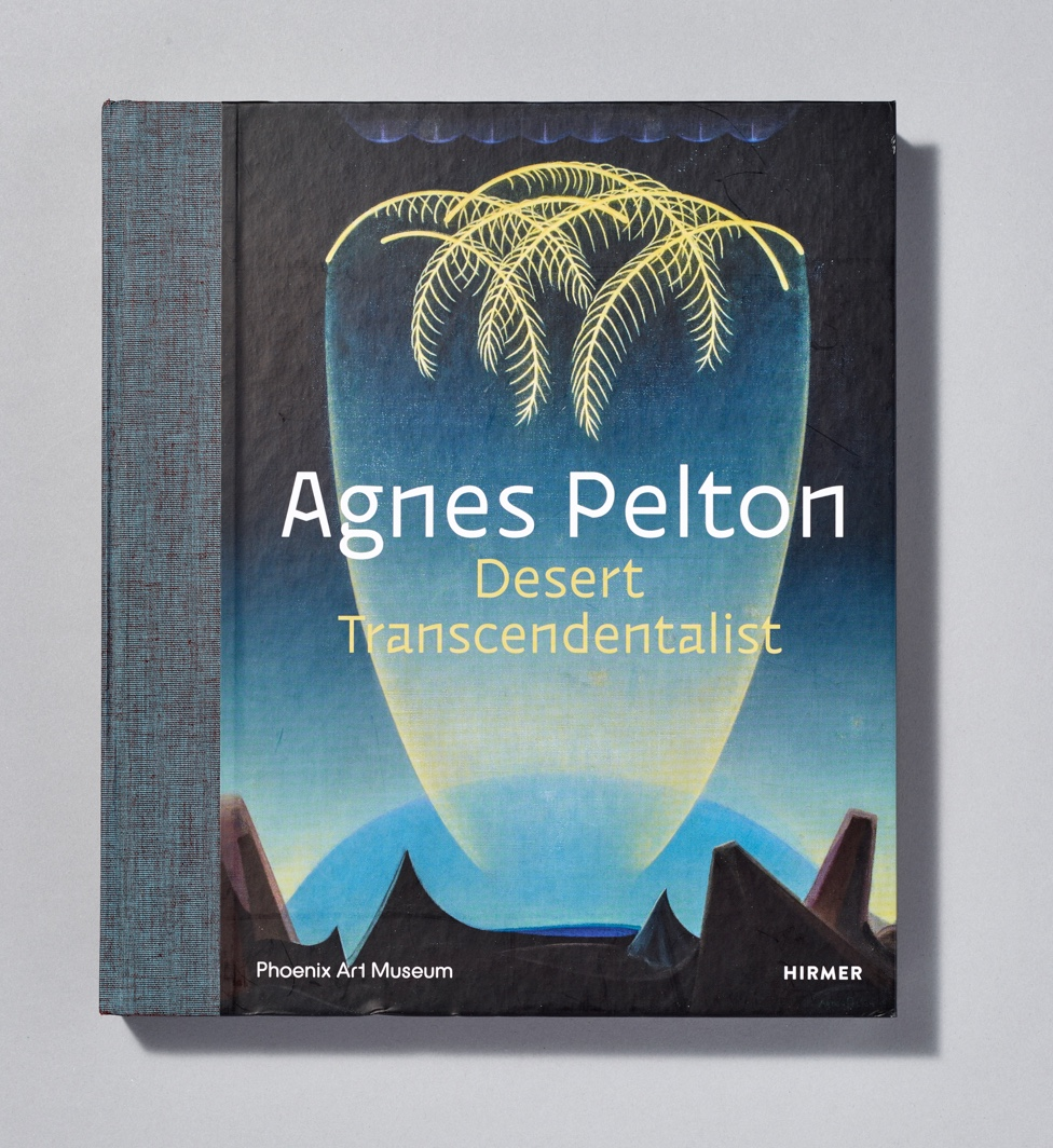 Cover of Agnes Pelton Desert Transcendentalist show catalogue